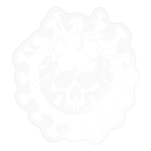 Skull No Corona - Adesivo