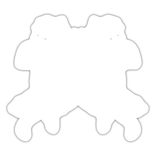 angelo cherubino geometrico stencil - Adesivo