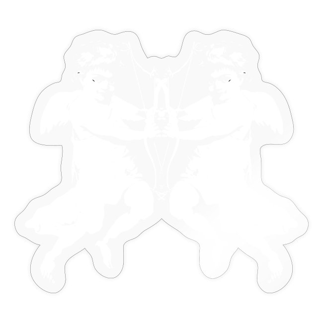 angelo cherubino geometrico stencil