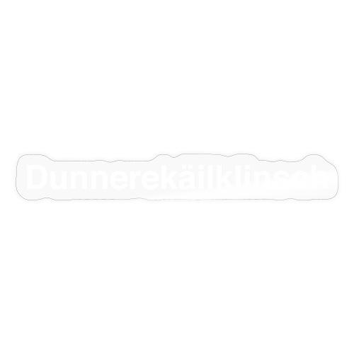Dunnerekailklinsch - Sticker