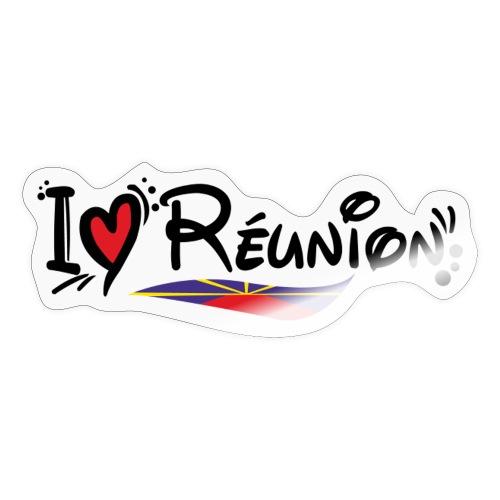i love Réunion - MAHAVELI - Autocollant