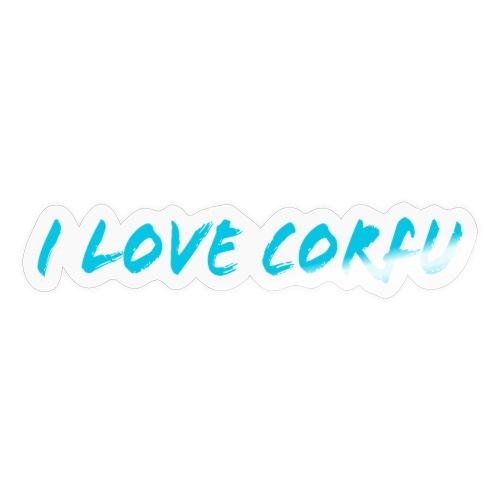 I Love Corfu Griechenland - Sticker