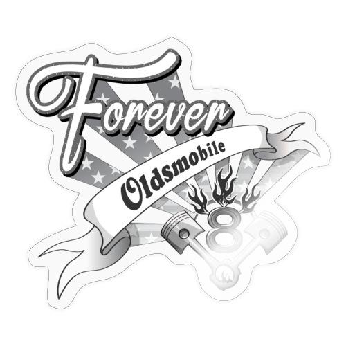Forever V8 - Klistermärke
