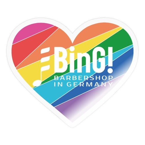 BinG Love Color - Sticker
