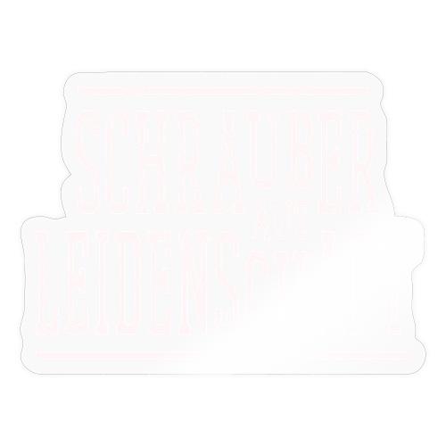 Schrauber aus Leidenschaft Geschenkidee für KFZler - Sticker