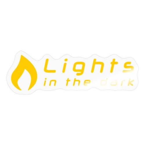 Lights in the Dark - officiel (simple) - Autocollant
