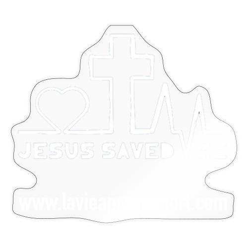 Jesus saved me - Autocollant