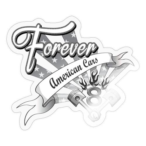 Forever American Cars - Klistermärke