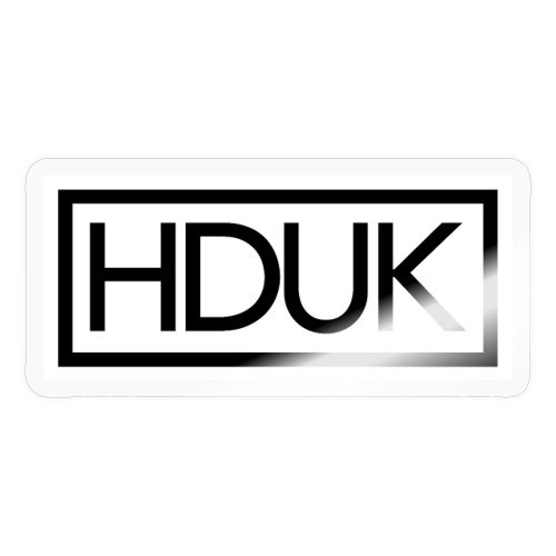 HDUK Black Logo with Border - Sticker
