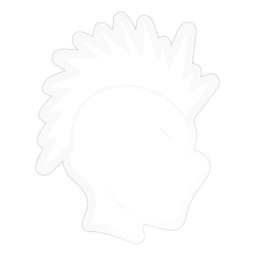 Cally Mohawk Logo - Sticker