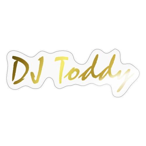DJ Toddy GOLD - Sticker