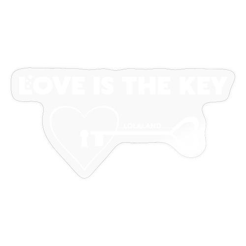 LOVE IS THE KEY - Sticker