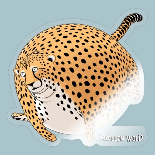 Rollin'Wild - Cheetah - Sticker