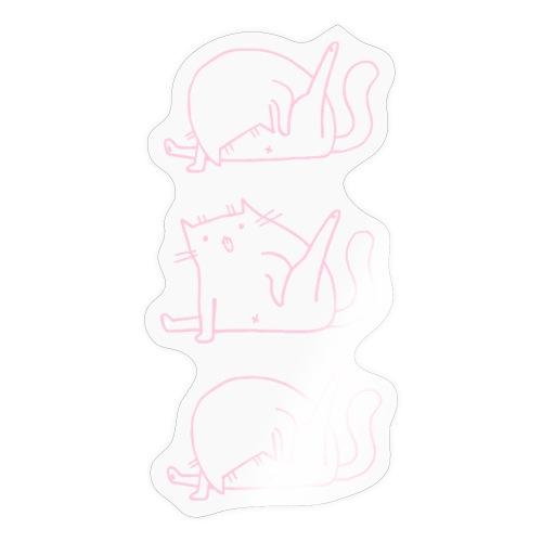 3 Cats rosa - Sticker