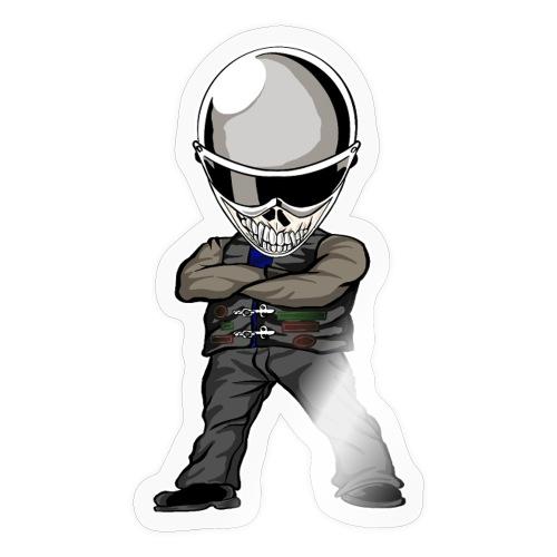 Böser Streetfighter - Sticker