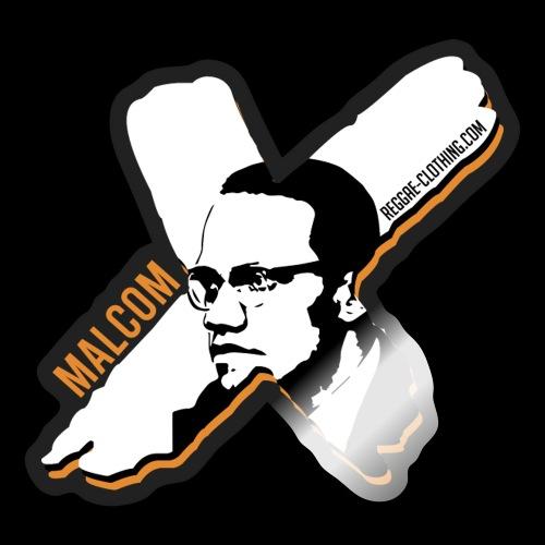 Malcom X - X Letter - Sticker