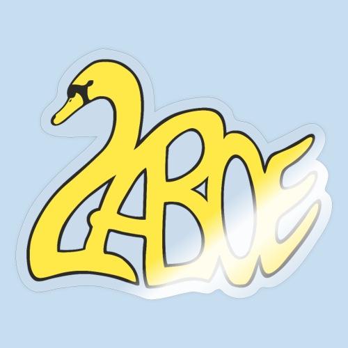 Laboe Schwan gelb - Sticker