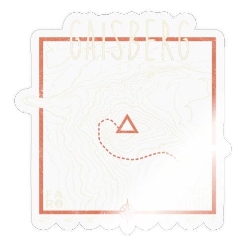 Gaisberg Paragliding - Contour Lines - Sticker