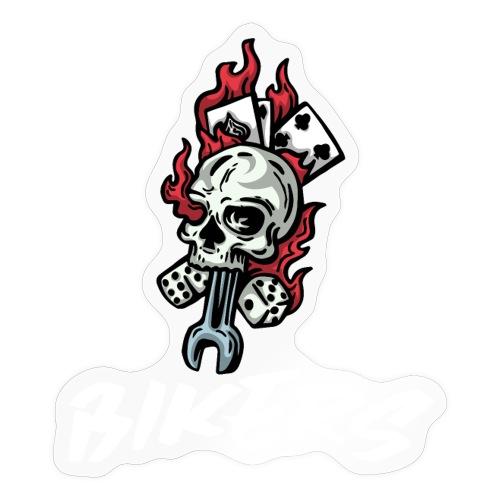biker 666 - Autocollant