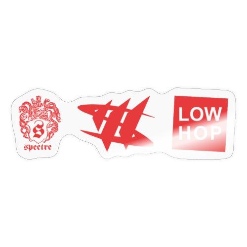 3 X Logo - Sticker