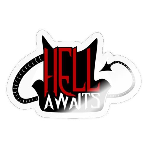 Hell Awaits -clean - Sticker