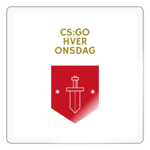 CS:GO hver torsdag - Sticker