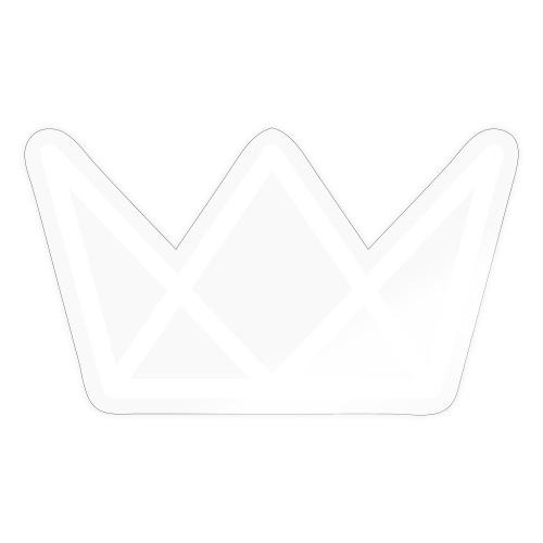 TKG Krone weiss CMYK - Sticker