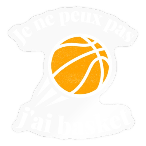 basket - Autocollant
