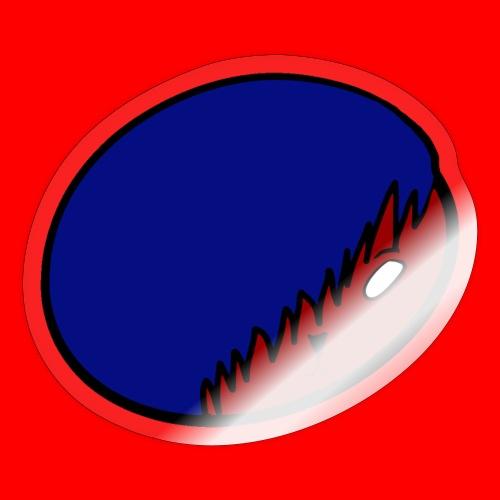 Hero Logo - Klistremerke
