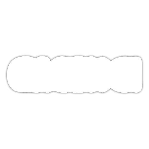 Crackkoch on black - Def Ill Merch - Sticker