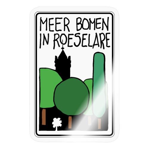 Meerbomen in Roeselare - Sticker