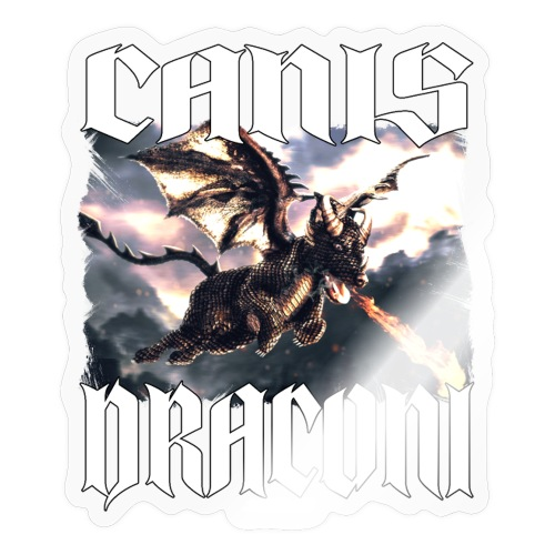 Canis Draconi - Sticker