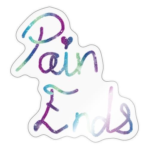 Pain ends - Sticker