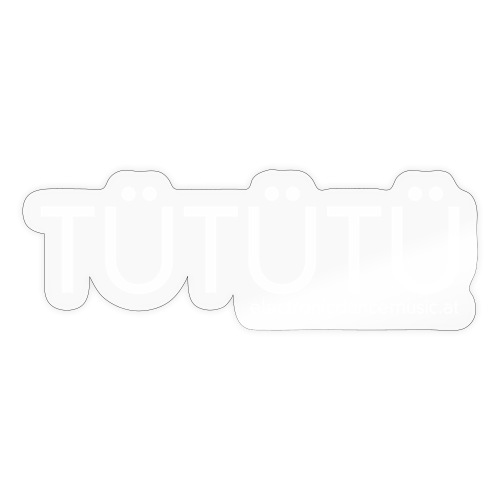 Tütütü EDM - Sticker