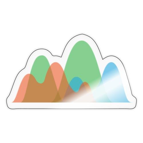Istogramma Digital Colorist - Adesivo