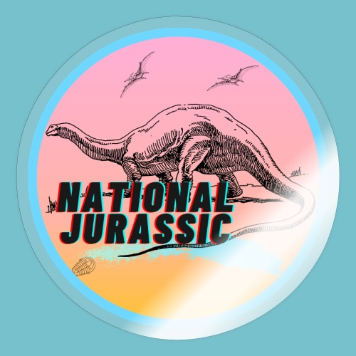 National Jurassic - Sticker