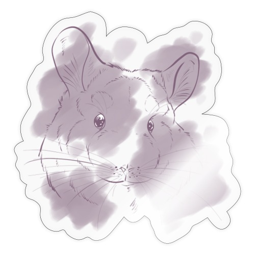 Violet splash chinchilla 2 - Tarra