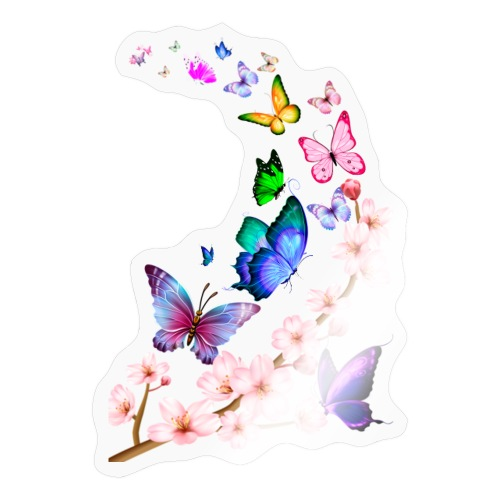 Butterfly dance dance - Sticker