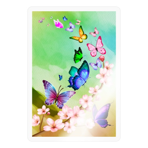 Butterfly dance - Sticker