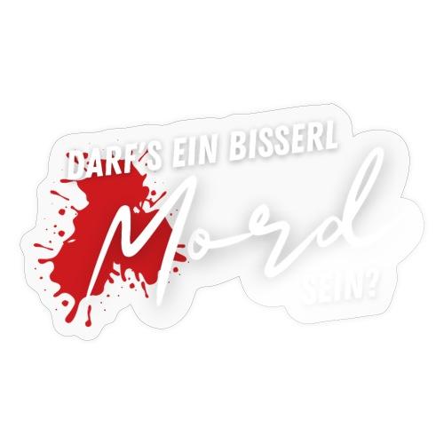 DEBMS Logo weiß - Sticker