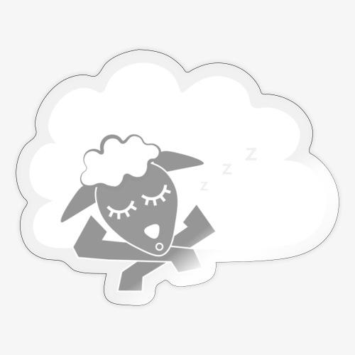Sleeping Sheep - Sticker