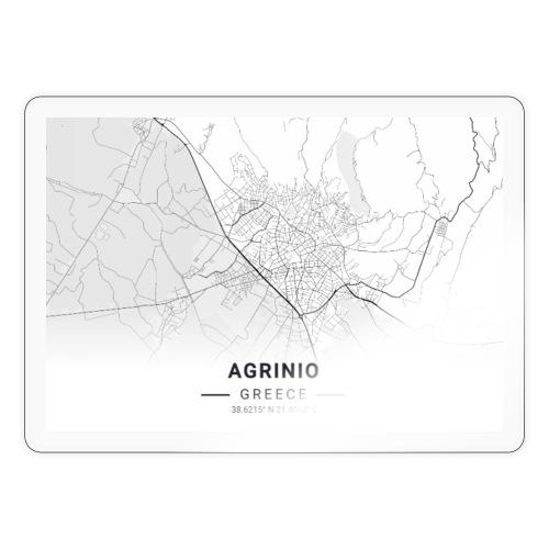 Agrinio map - Sticker