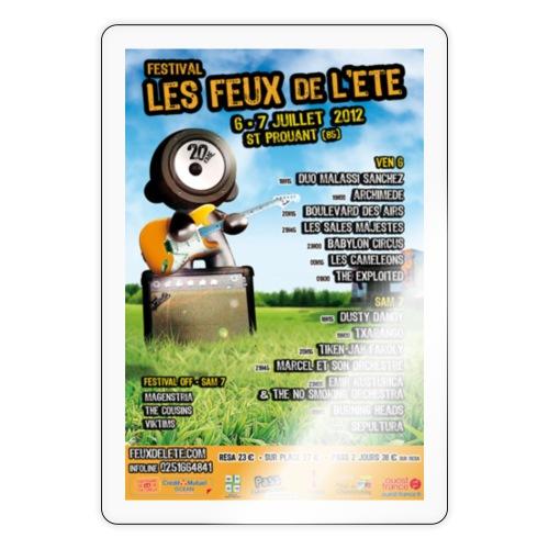 Affiche 2012 - Autocollant