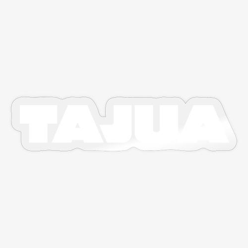 TAJUA 2021 valkoinen - Tarra