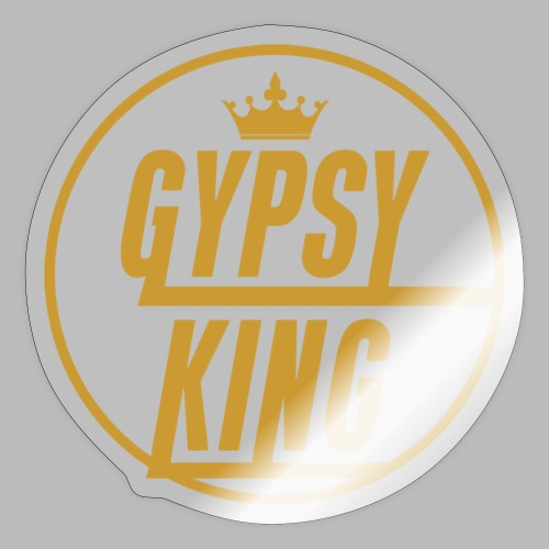gypsy king logo by lennylindell - Klistermärke
