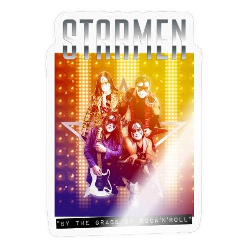 Starmen By the Grace of Rock'n'Roll - Sticker