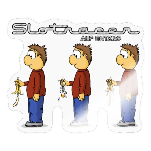 Slotracer auf Entzug - Sticker