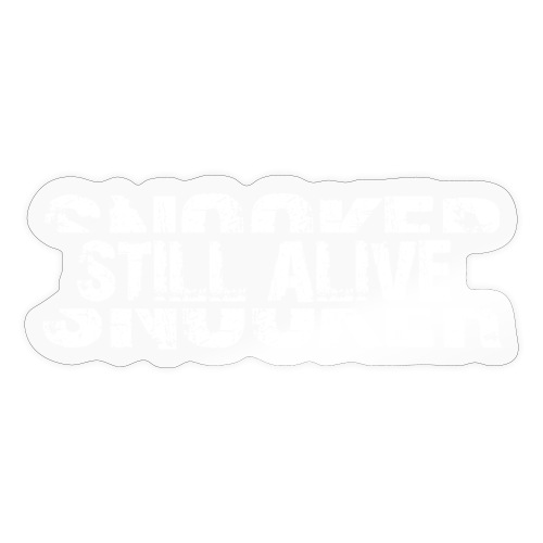 Snooker still alive - Sticker
