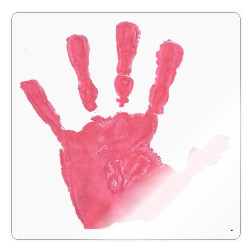 Hand - Klistermärke