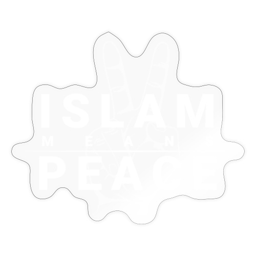 Islam means Peace - Sticker